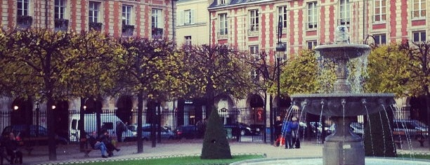 Place des Vosges is one of 「带一本书去巴黎」.