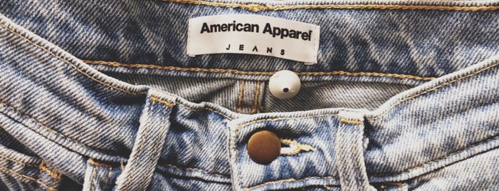 American Apparel is one of london.