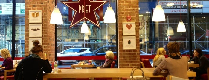 Pret A Manger is one of Mayor's Food Waste Challenge.