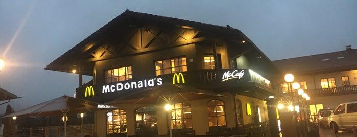 McDonald's is one of Locais curtidos por Canburak.