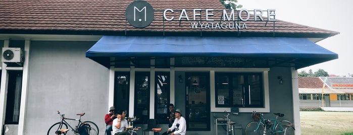 Cafe More Wyata Guna is one of My Bandung Coffee Directory 2018, 2019, 2020.