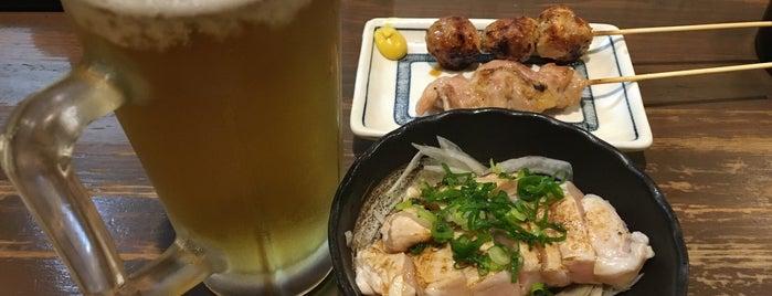 鳥八 is one of 美味しい.