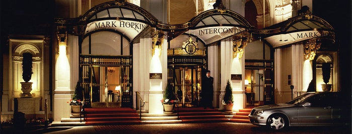 InterContinental Mark Hopkins is one of Travel Places.