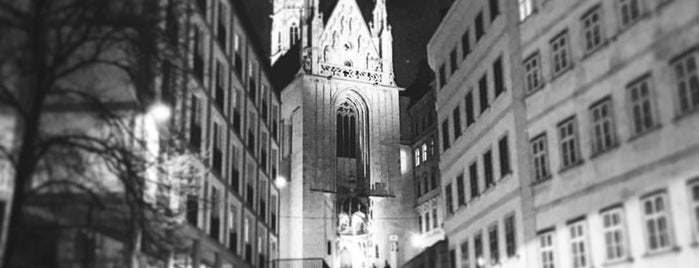 Maria am Gestade is one of Vienna my love.