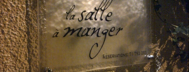 La Salle à Manger is one of Fav restaurants.