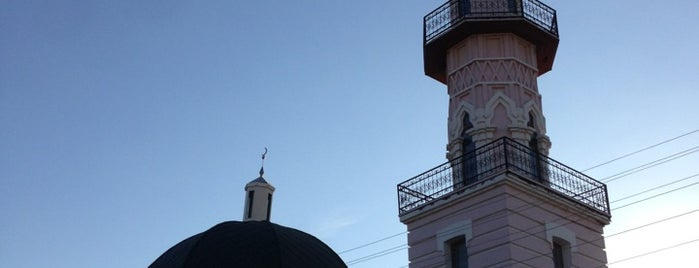 Белая Мечеть is one of Антикризисные путешествия.
