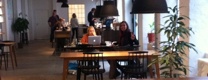 The Coffee Collective is one of Copenhage.