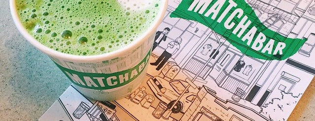 MatchaBar is one of Teatotalers, Unite!.