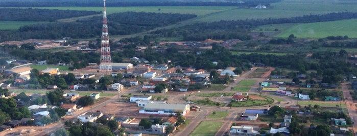 União do Sul is one of Mato Grosso.
