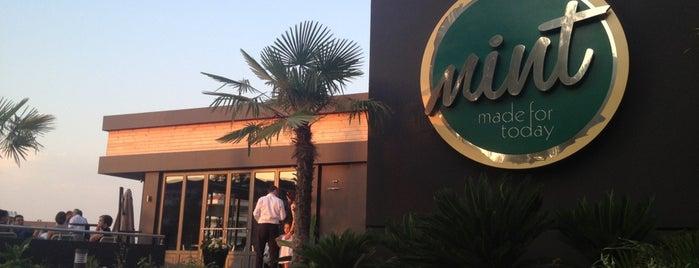 Mint Restaurant & Bar is one of İzmir'de yeme içme sanatı.