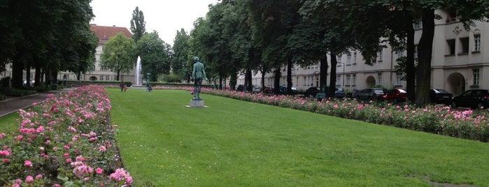 Ceciliengärten is one of Berlin.