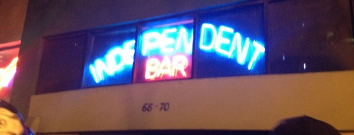 Independent Bar is one of CLUBS AND BARS.