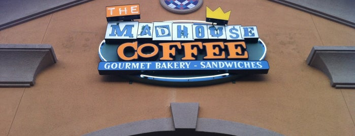 The MadHouse Coffee is one of Lieux qui ont plu à Stephanie.