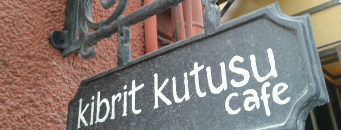 Kibrit Kutusu is one of Cafe.