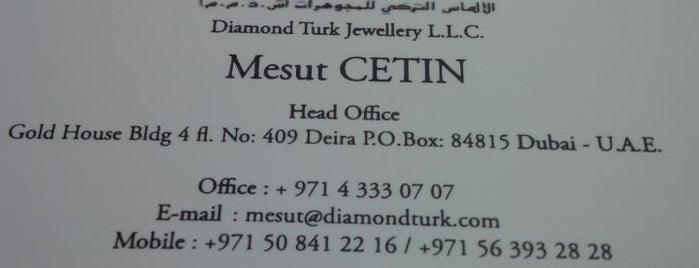 Dubai Diamonds Club is one of Kuyumcular.