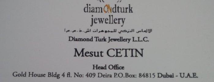 Diamond Turk Jewellery LLC is one of Kuyumcular.