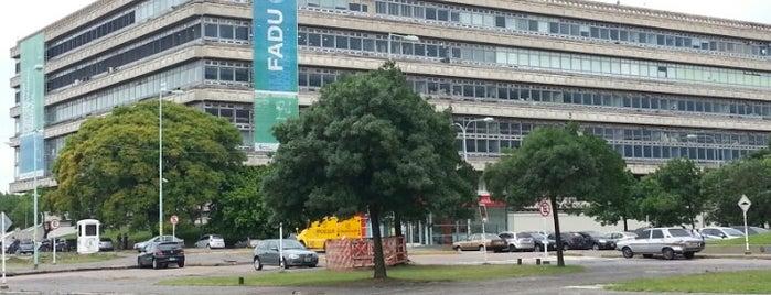 Facultad de Arquitectura, Diseño y Urbanismo (FADU - UBA) is one of Tempat yang Disukai Agustin.