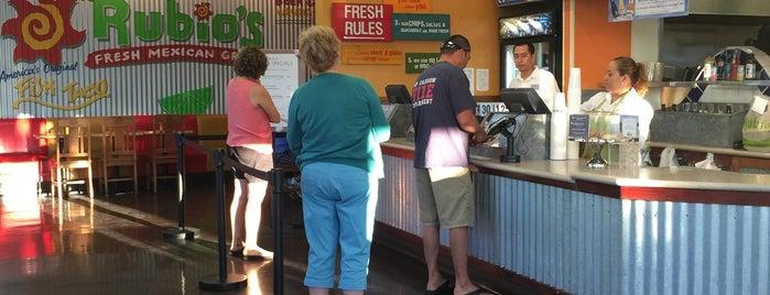 Rubio's Coastal Grill is one of Sara 님이 좋아한 장소.