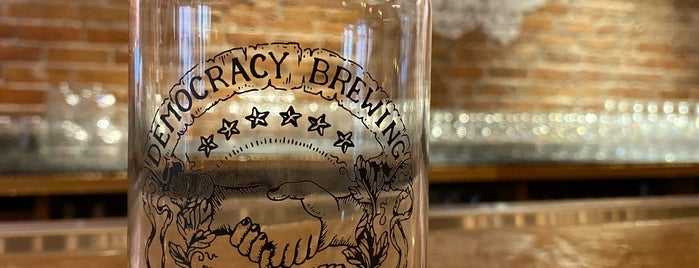Democracy Brewing Company is one of Boston.
