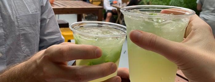 Santiago's Beer Garden is one of bars.