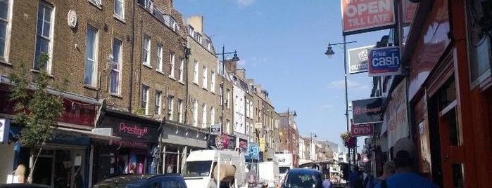 Chapel Market is one of London's Best Street Food.