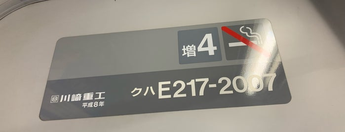 JR 横須賀線・総武快速線 品川駅 is one of セブンティーンアイスがある場所.