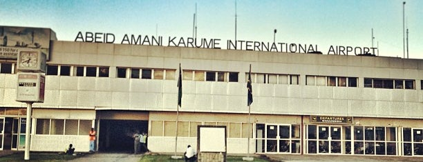 Abeid Amani Karume International Airport (ZNZ) is one of Locais salvos de arz-ı.