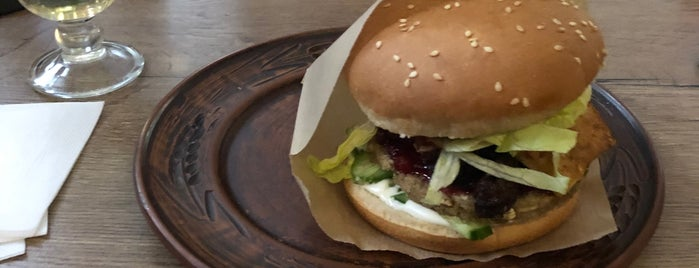 Zen Vegan Burger is one of SPB Vegan.