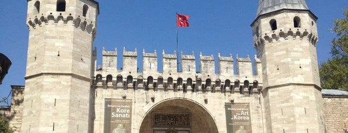Palais de Topkapı is one of Istanbul.