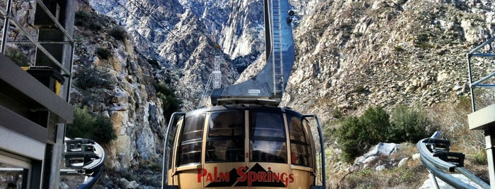 Palm Springs Aerial Tramway is one of desert holiday.