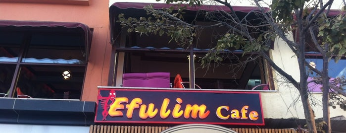 Efulim Cafe is one of Lugares favoritos de Süleyman.