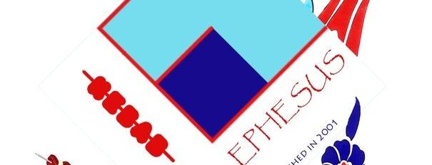 Ephesus Pizza is one of Tempat yang Disukai Julie.