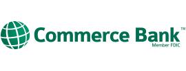 Commerce Bank is one of Tempat yang Disukai 🖤💀🖤 LiivingD3adGirl.