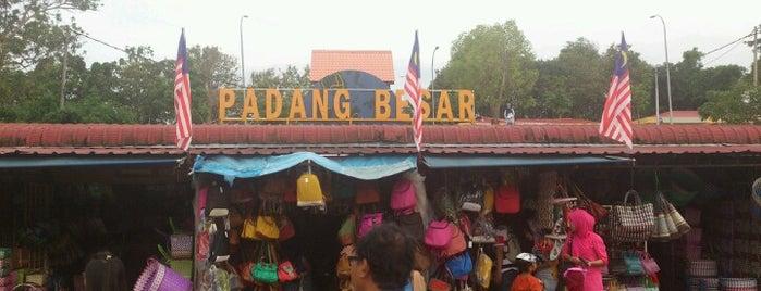 Arked Niaga Padang Besar is one of membeli belah.