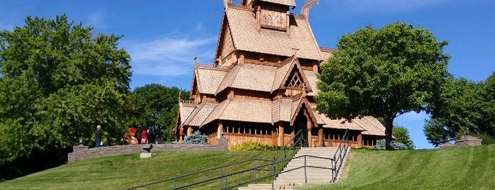 Gol Stave Church is one of Minot, ND.