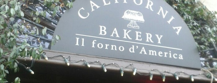 California Bakery is one of Ristoranti Milano.