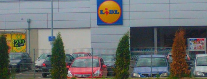 LIDL is one of Lieux qui ont plu à Slysoft.