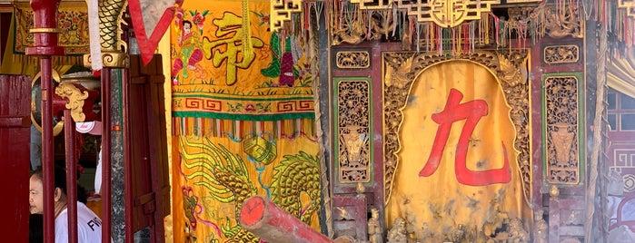 ศาลเจ้ากะทู้ : หล่ายถู่ต่าวโบ๊เก๊ง (Kathu Shrine : 內杍斗母宮) is one of Phuket.