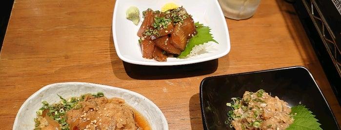 沼津港 海将 上野1号店 is one of Lieux qui ont plu à ken.