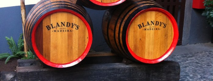 The Old Blandy Wine Lodge is one of Darrell 님이 좋아한 장소.