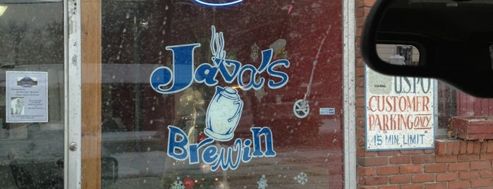 Java's Brewin' is one of Erin: сохраненные места.
