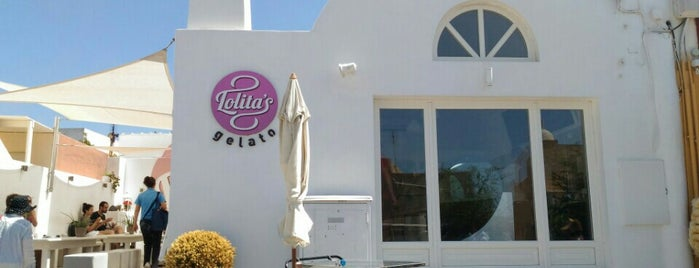 Lolita's Gelato is one of Santorini, Greece.