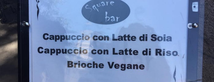 Square Bar is one of Colazione vegan a Milano e dintorni.