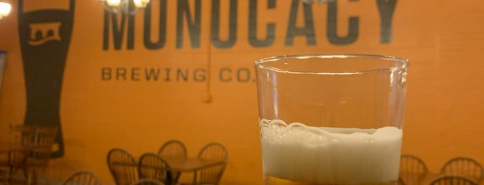 Monocacy Brewing is one of DC Area.