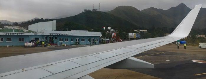 Tolagnaro Airport (FTU) is one of Aeroportos.