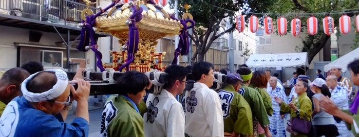 谷中児童遊園 is one of 神輿で訪れた場所-1.