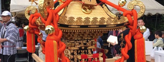 赤井町会会館 is one of 神輿で訪れた場所-1.