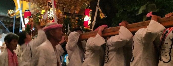 松尾大神 is one of 神輿で訪れた場所-1.