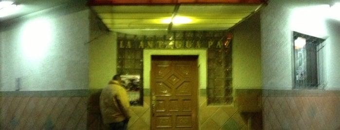 La Antigua Paz is one of Bares, Cafés Y Restaurantes.