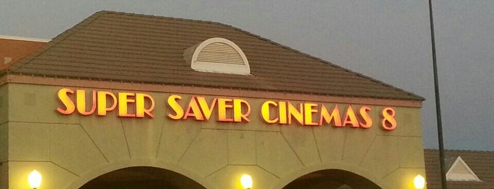 Super Saver Cinema 8 / Silver Cinemas is one of Orte, die Patty gefallen.